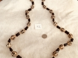 Black & Light Brown Necklace
