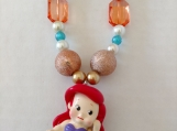 Mermaid Chunky Girl's Necklace