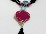 Purple heart Necklace - ALNE011