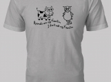Animals are my friends. I don't eat my friends.  T-Shirt