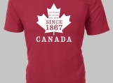 Canada - We Stand on Guard for Thee - Custom T-Shirt