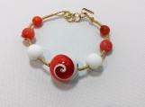 Coral bracelet - PABR030