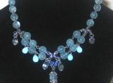 Aquamarine Stones & Swarovski Crystals