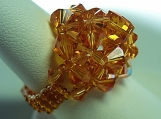 Topaz WonderDome Swarovski Crystal Ring