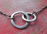 Join Together Silver Necklace