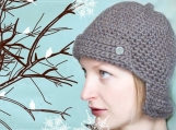 PATTERN Knittles Hunter Hat - Crochet Instructions in PDF