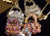 Swarovski Crystal Beaded Handbag Key Chains