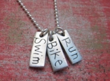Triathlon necklace