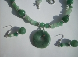 Aventurine and Amzonite Necklace