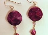 Purple Passion Earrings
