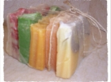 Sampler Pack of Artisan Handcrafted Soaps FREE SHIPPING IN THE CONTINENTAL US