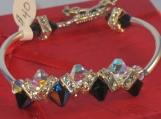 Midnight Magic Crystal Bracelet