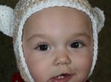Hip urban style cotton moo earflap hat - (0-5yrs.) -FREE SHIPPIG