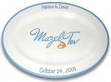 Mazel Tov Wedding / Bar Mitzvah / Bat Mitzvah Signature Platter