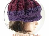 PDF Pattern Only, Newsboy Crochet Hat, no. 51