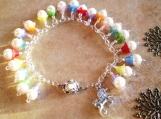 Spring pearl bracelet