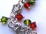 Sterling Silver Pheasable Chainmaille Bracelet