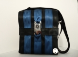 Recycled Seat Belt Medium Messenger Handbag
