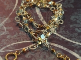 Silver and Gold - Sterling Silver and Gold Vermeil Necklace - Witchery