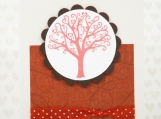 Hand Made Valentine or Anniversary Card - Love Tree