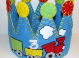 Choo Choo Train Felt Party Crown