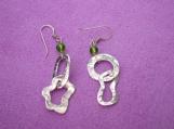 Fine Silver Link Earrings