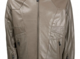 Sport  lambskin leather jacket.