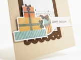 Happy Birthday Masculine Card