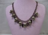 Skull Halloween Necklace