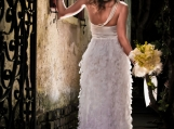 designer wedding dress, custom made wedding dress