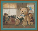 Bear Stories Cross Stitch Pattern