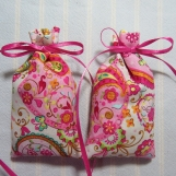 "Pink 3""X2"" Sachet-'Strawberry Cheesecake' Fragrance-144"