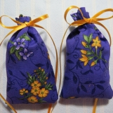 Purple 3X2 Sachets-'Spring Blossoms' Fragrance-Cindy's Loft-100