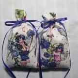 White Sachet-'Lavender'Fragrance-Fairy Sachet-Cindy's Loft-692