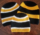 Crochet Sports Themed Hats & Toboggans