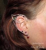 Woodland Elf Ears, wood elves, Elven ears, fantasy earrings