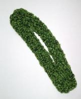Apple green sparkle bobble headband