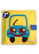 Busy Book, Quiet Book, Adventure Book, Educational Soft Book CAR