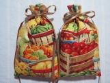 "Autumn 5""X2"" Sachet-'Apple Pie' Fragrance-Cindy's Loft-264"