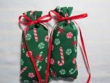"""Christmas Green 4""""X1.5"""" Sachet-'Christmas Dreams' Fragrance-571"""