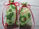 """Christmas Green 4""""X2"""" Sachet-'Christmas Tradition' Fragrance-143"""