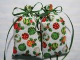 "Christmas Ivory 4""X2"" Sachet-'Wassail' Fragrance-511"