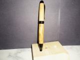 Olive Wood Pen - Cigar - Black