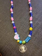 Song of Bernadette Bead Necklace