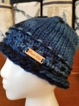 Super soft rolled brim hat