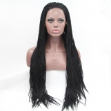 """18""""  Synthetic Braided Lace Front  #1-1B"""
