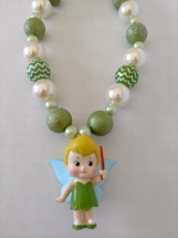 Girl's Tink Fairy Necklace
