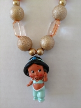 Jasmine Chunky Girls Necklace