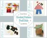 Pattern Sale Discount Crochet Costume Pattern Pack - Any 2 Outfit Patterns PDF Files