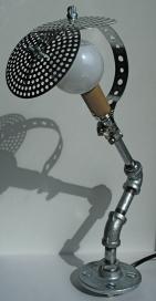 desk lamp [galvanized]